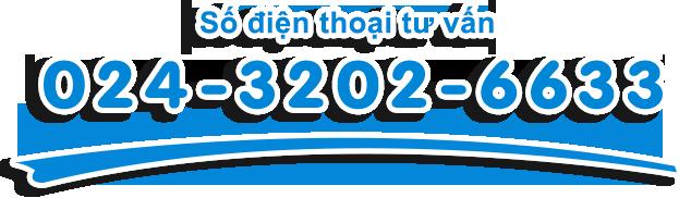 số điện thoại tư vấn 024-3202-6633